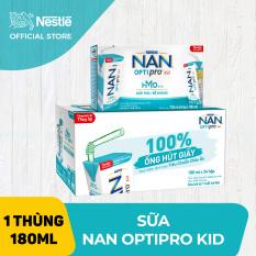 Thùng 24 hộp Sữa pha sẵn NAN OPTIPRO KID (24x180ml) cho trẻ từ 1 tuổi
