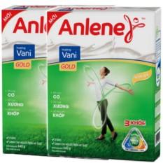 COMBO 2 Hộp Sữa bột Anlene Gold Movepro vani hộp 440g (trên 40 tuổi)