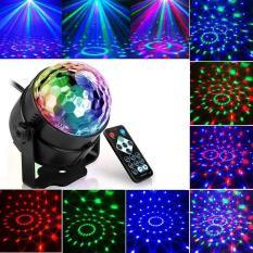 Đèn led xoay 7 màu cảm ứng theo nhạc trang trí tại gia đình, phòng karaoke, chất liệu cao cấp, bền bỉ
