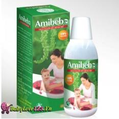 Sữa tắm chống rôm sảy amibebe ( Nước lá tắm cho bé ) Chai 250ml