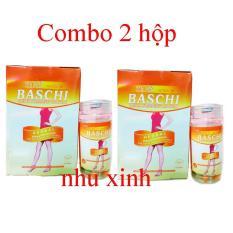 Combo 2 hộp giảm cân Baschi Thái Lan giúp giảm béo an toàn