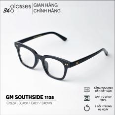 Gọng Kính cận nam nữ GENTLE MONSTER SOUTHSIDE chất liệu nhựa dẻo, mắt kính gọng vuông phù hợp với nhiều khuôn mặt, kính Hàn Quốc có độ kính gọng nhựa mắt trong suốt kính thời trang giả cận