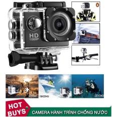 Camera hành trình chống nước, Camera gắn mũ bảo hiểm, Camera Hành Trình Quay Đêm nét, Camera Hành Trình Sports cam Full HD 1080p, camera đi phượt Full phụ kiện, Chống rung chống bui chống sóc uy tín chất lượng BH 1 đổi 1