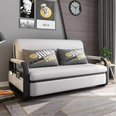 Giường Gấp Gọn Thành Ghế Sofa , Giường Ngủ Đa Năng Nệm Bọt Biển Tự Nhiên , Khung Thép Cường Lực Kích Thước 1m3 x 1m9