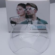 kính phòng dịch che mặt chống giọt bắn có gọng gương Face SHIELD