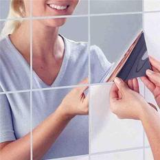 Gương dán tường 15x15cm(set 6 miếng)