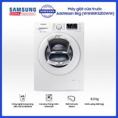 Máy giặt cửa trước Samsung AddWash 8kg – WW80K52E0WW