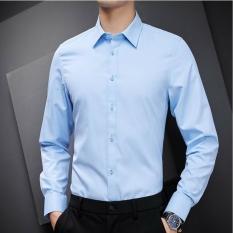 Áo sơ mi nam dài tay cao cấp : Chất liệu lụa mềm mịn ,kiểu dáng Hàn Quốc không nhăn, không xù , thấm hút mồ hôi
