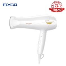 Máy sấy tóc Flyco FH1610VN – Công suất lớn 2200W – Chế độ sấy lạnh bảo vệ tóc – Chống quá nhiệt an toàn – Tay cầm gặp tiện dụng – Hàng chính hãng bảo hành 24 tháng.