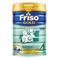 Tặng 1 chén sứ – Sữa bột Friso Gold 4 400g cho trẻ từ 2-4 tuổi – HSD 12/2021