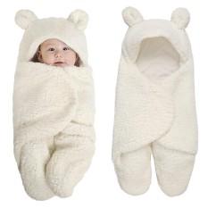 Chăn quấn lông cừu ủ kén Baby Blanket hình thú cao cấp cho bé yêu