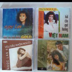 Bộ 4 cd Ngọc Lan 2 Mitsu phono