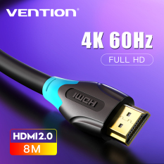 [Nhập LZDEL51 giảm 10% tối đa 200k cho đơn 99k] Vention dây cáp HDMI 2.0 4K High Speed HDMI Male to Male 2.0 Cable Monitor Video Cable with 3D 4K 60Hz cáp HDMI kết nối tivi 1M 2M 3M 5M 10M for HDTV LCD Projector Laptop PS3 PS4 Switch HD HDMI 2.0 Cable