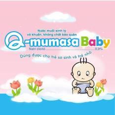 Nước muối sinh lý vô khuẩn cho bé Q-mumasa baby 1ml