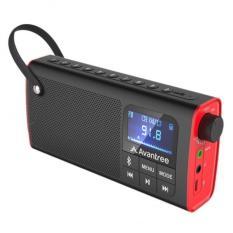 Loa Bluetooth mini kiêm đài FM, Đài FM kiêm loa mini bluetooth – AVANTREE SP850 – A2023 ( Bảo hành 1 năm 1 đổi 1 ) – Hỗ trợ jack cắm tai nghe, khe cắm thẻ nhớ, thời gian chơi nhạc 10h, thời gian dùng Radio lên đến 20h – An Tiến