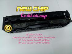 Hộp mực màu đen HP 203A CF540A-Có thể tái nạp-Dùng cho máy in HP Color LaserJet Pro M254, MFP M280, M281