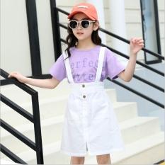 Bộ đồ Yếm và Áo cotton cho bé gái từ 3 đến 14 tuổi – YEM18