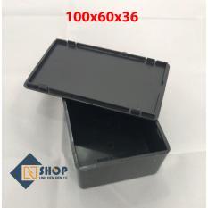Hộp nhựa gài III 100x60x36