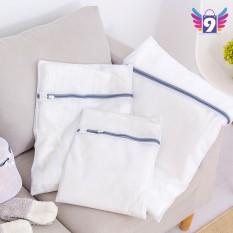 Túi lưới giặt quần áo loại dày 9STORE nhiều size (màu trắng)