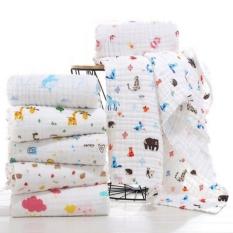 Khăn tắm Aden 6 lớp cao cấp mềm mịn với da em bé (1m x 1m)