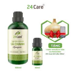 Tinh dầu Sả Chanh 24Care chiết xuất thiên nhiên, thơm phòng, đuổi muỗi
