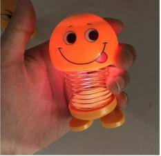 Đồ Chơi Emoji Lò xo loại có đèn nháy , trang trí xe hơi, thú nhún xe hơi, trang trí phòng học
