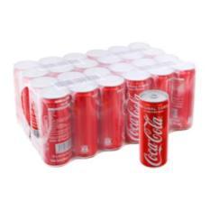 Thùng 24 lon cao Nước ngọt Coca Cola 330ml