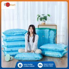 Bộ 4 túi chân không Kitai KT037 đựng quần áo, chăn màn, mền gối của Nhật Bản kích thước 56x80cm + 80x100cm