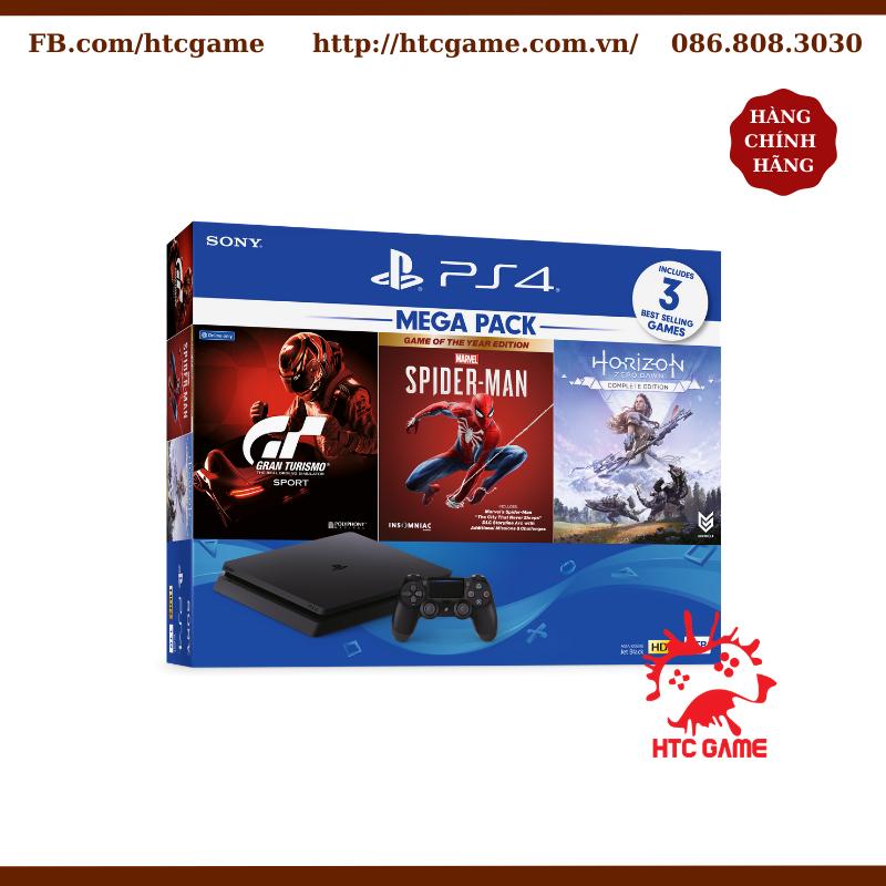 PS4 SLIM 1TB HDR CUH2218B MEGA 3 (ASIA-00390) chính hãng BH 12 tháng