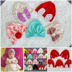Nón/ mũ Turban loại đẹp nhiều màu cho bé (5-11kg) – 1 cái