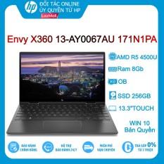 Laptop HP ENVY X360 13-AY0067AU 171N1PA (Xám Đen) R5-4500U/ 8GB/ 256GB/ 13.3″FHD/TOUCH/ OB/ Win10 – Hàng chính hãng new 100%