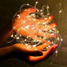 Combo 5 Dây đèn led đom đóm – SẴN PIN , đèn fairylight dài 1m 10 bóng TEST TRƯỚC KHI GIAO