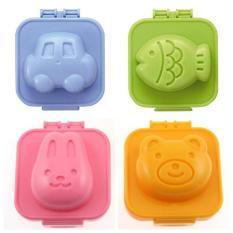 Bộ 4 khuôn cơm hình thú cưng – dụng cụ ăn dặm KBN 21288