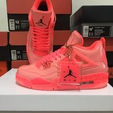 Giày Sneaker Jordan 4 Hot Punch Full red ( Full box)