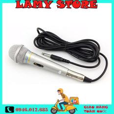 Micro Karaoke XINGMA AK-319 chống hú . Micro hát karaoke gia đình. Mic có dây dài 3m. Có trang bị lọc âm, âm thanh trong trẻo mượt mà, hát cực hay. Mic XingMa 319 thỏa mãn niềm đam mê ca hát của bạn., BH uy tín 1 đổi