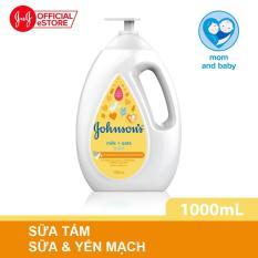 Sữa tắm Johnson's baby milk oat chứa sữa và yến mạch 1000ml (MỚI) – 100977932