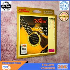 Bộ 6 dây đàn guitar acoustic Alice AW432 – Duy Guitar Store Phụ kiện đàn guitar giá tốt