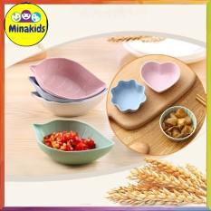 Combo 4 bát lúa mạch cho bé ăn dặm kiểu nhật hoặc đựng gia vị