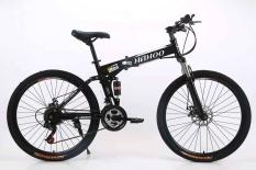 Xe đạp thể thao địa hình gấp gọn Hahoo-Có bánh mâm đúc