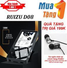 Máy nghe nhạc MP4 màn hình HD 2.4 inches Ruizu D08 + Tặng Tai nghe nhét tai RUIZU Chất lượng cao – Máy nghe nhạc Lossless chất lượng cao – máy nghe nhạc giá rẻ