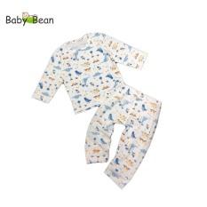 Đồ Bộ Cotton Unisex Tay Dài MẪU NGẪU NHIÊN BabyBean