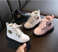 Giày boot trẻ em giày cao cổ cho cả bé trai và bé gái thời trang đi êm chân