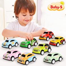 [HCM]Ô tô đồ chơi mini ô tô đồ chơi trẻ em trong hạng mục đồ chơi ô tô cho bé dây cót nhiều màu sắc Baby-S – SDC048