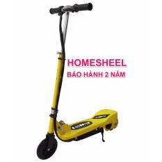 Xe điện scooter Homesheel b2 mẫu mới – vàng