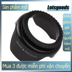 {lotsgoods}Professional Flower Shape Screw Mount Camera Lens Hood (58mm)