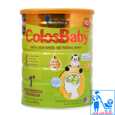 Sữa Bột VitaDairy ColosBaby IQ Gold 1+ Hộp 800g (Miễn dịch khỏe, bé thông minh; Cho trẻ 1~2 tuổi)