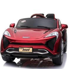 Ô tô xe điện trẻ em cao cấp KUPAI 2020 đồ chơi vận động đạp ga 2 chỗ 4 động cơ cho bé ( Đỏ-Trắng-Cam)