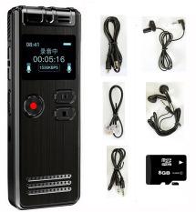 Máy Ghi Âm Chuyên Nghiệp GH-Q6 (SK06) 8G Màn Hình LCD Tích Hợp Loa Ngoài – Có Hỗ Trợ Nghe Nhạc MP3