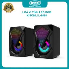 Loa vi tính Kisonli L-9090 LED RGB cực đẹp – chuyên nhạc và game (nhiều màu) Nhất Tín Computer