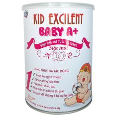 Sữa mát cho trẻ sơ sinh 6-36 tháng Kid Baby A+ 900g